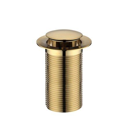 Clicker Waste Brushed Brass - Accessories