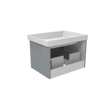 Esperia 600 Wall Hung Vanity Unit c/w Atessa Basin - Esperia