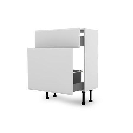 600 Base Unit Two Drawer Standard - Malvern